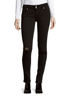 Hudson Jeans Collin Solid Skinny Jeans