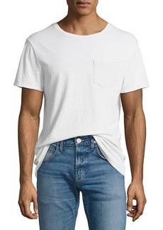 Hudson Jeans Hudson Crewneck Pocket T-Shirt