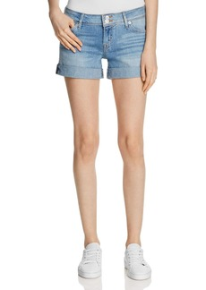 Hudson Croxley Denim Shorts in Light Wash