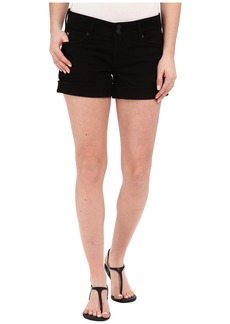 Hudson Croxley Mid Thigh Shorts in Black