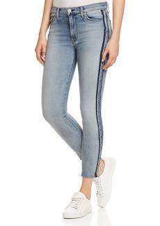 Hudson Custom Barbara High Rise Jeans in Larkspur