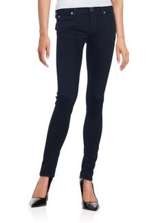 Hudson Elysian Collin Mid-Rise Skinny Jeans