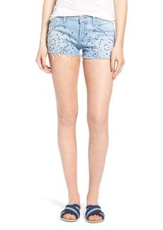 Hudson Embroidered Cutoff Shorts (Hoshi 2)