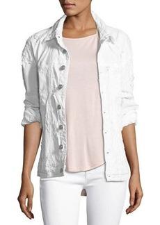 Hudson Jeans Hudson Emmet Long-Sleeve Destroyed Boyfriend Jacket