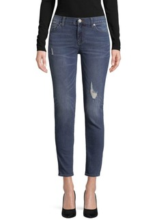 Hudson Faded Ankle Jeans