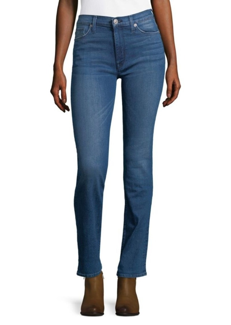 Hudson Jeans Faded Mid-Rise Jeans