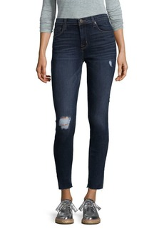 Faded Midrise Ankle-Cut Jeans