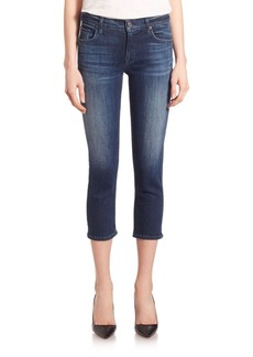 Hudson Fallon Skinny Extra-Cropped Jeans
