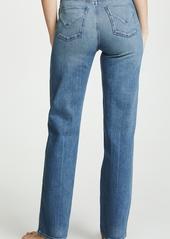 Hudson Jeans Hudson Faye High Rise Straight Jeans