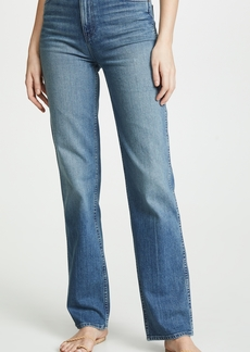 Hudson Jeans Hudson Faye High Rise Straight Jeans