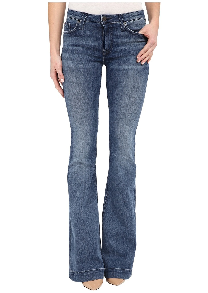 Hudson Jeans Hudson Ferris Mid-Rise Flare in Mission Control