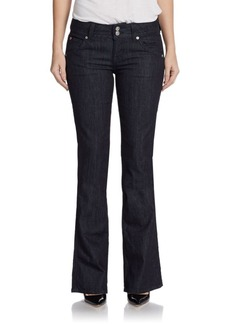 Hudson Five-Pocket Bootcut Jeans