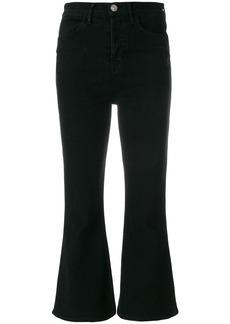Hudson flared cropped Hudson jeans - Black