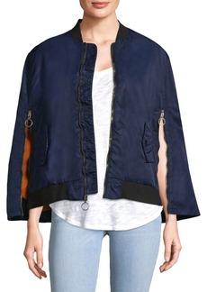 Hudson Jeans Foxtrot Bomber Jacket