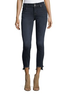 Hudson Jeans Hudson Fray-Hem Skinny-Leg Jeans