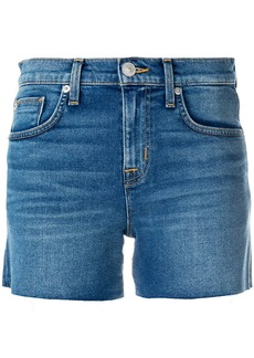 Hudson Jeans frayed Hudson denim shorts