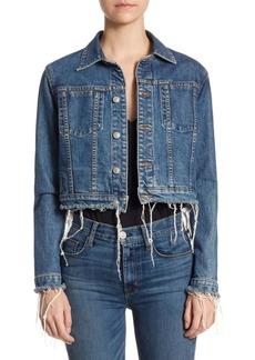 Garrison Cropped Denim Jacket