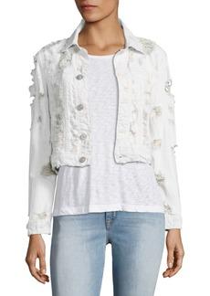 Hudson Jeans Garrison Cropped Jacket