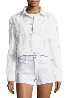 Hudson Jeans Hudson Garrison Cropped Jacket