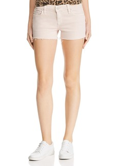Hudson Jeans Hudson Gemma Cutoff Denim Shorts in Distressed Dusty Rose