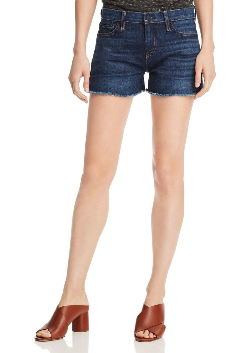 Hudson Jeans Hudson Gemma Cutoff Denim Shorts in Nightfall