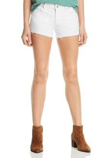 Hudson Jeans Hudson Gemma Cutoff Denim Shorts in White
