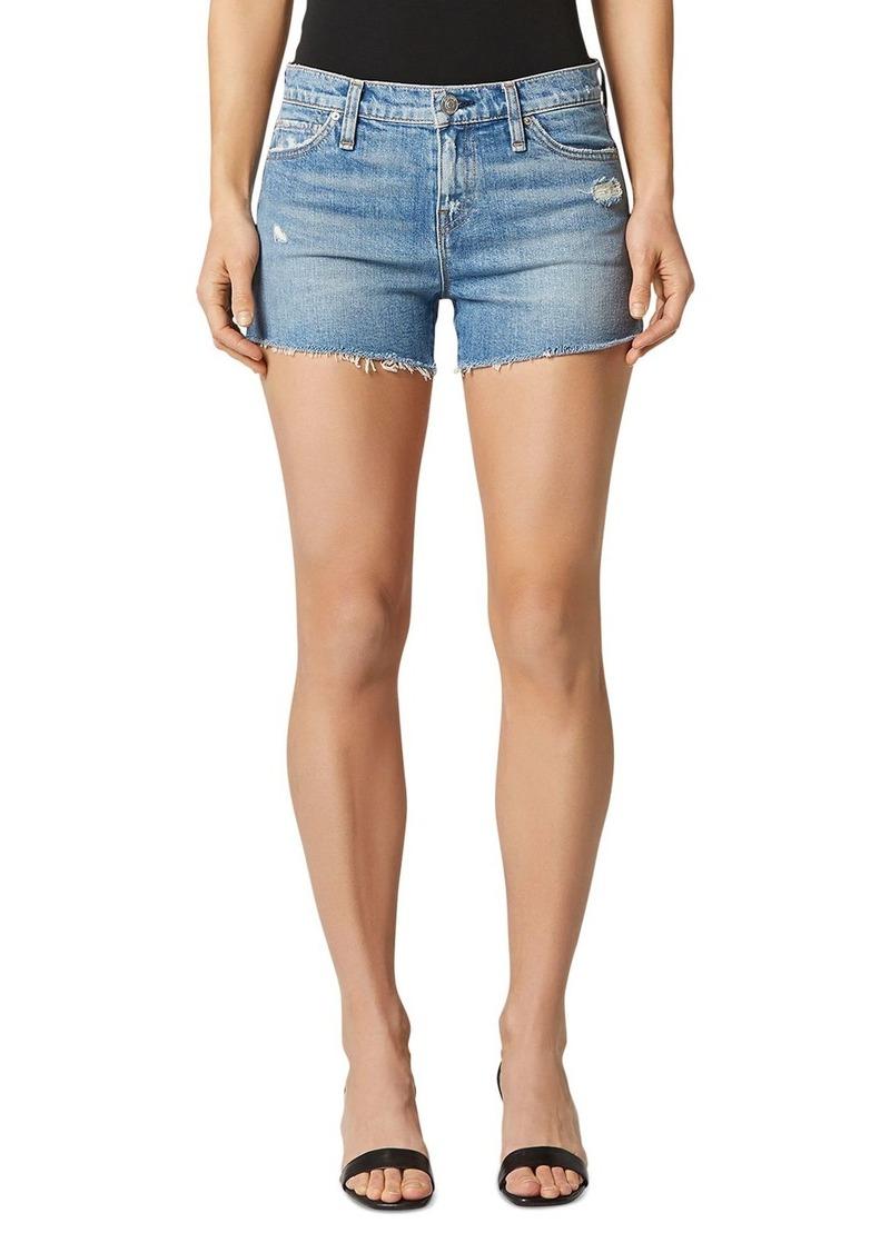 Hudson Jeans Hudson Gemma Cutoff Denim Shorts in Worn Lullaby