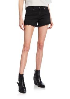 Hudson Jeans Hudson Gemma Mid-Rise Denim Cutoff Shorts