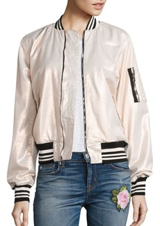 Hudson Jeans Hudson Gene Puffy Bomber Jacket