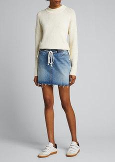 Hudson Jeans Hudson Grommet Detail Skirt