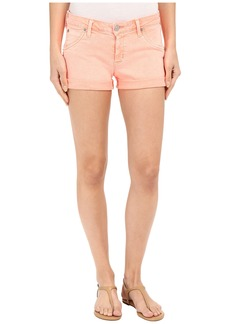 Hudson Hampton Cuffed Shorts in Luminous Orange