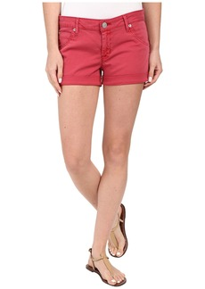 Hudson Jeans Hudson Hampton Cuffed Shorts in Red Stone