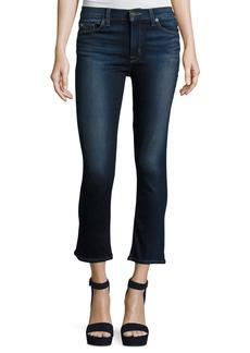 Hudson Jeans Hudson Harper Cropped Kick-Flare Jeans