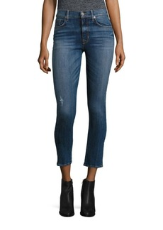 Hudson Harper High-Rise Baby Cropped Flared Jeans