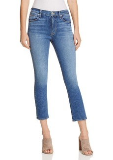 Hudson Harper High Rise Baby Kick Flare Jeans in Stamina - 100% Exclusive
