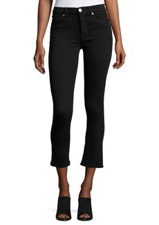 Hudson Jeans Hudson Harper High-Rise Crop Baby Kick-Flare Jeans