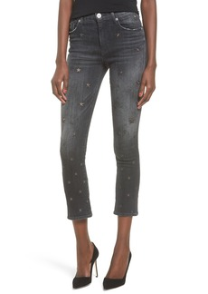 Hudson Harper High Waist Crop Baby Boot Jeans (Night Star)