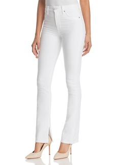 Hudson Jeans Hudson Heartbreaker High-Rise Bootcut Jeans in Optical White