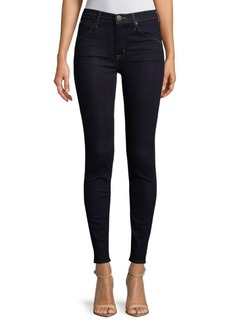 Hudson Jeans High-Rise Skinny Jeans