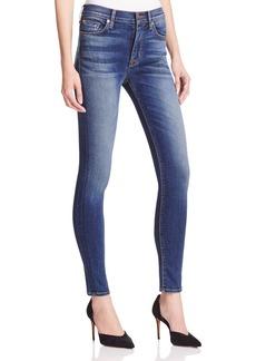 Hudson High Rise Skinny Jeans in Revolt