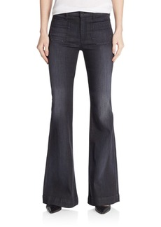 Hudson High-Rise Flared Jeans