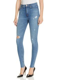 Hudson High Waist Skinny Jeans in Revolver