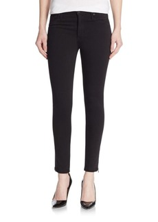 Hudson High-Waist Super-Skinny Side Stripe Jeans