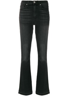 Hudson Jeans Hudson high waisted flared jeans - Black