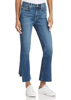 Hudson Jeans Hudson Holly Crop Flare Jeans in Loss Control