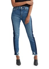 Hudson Jeans Hudson Holly High-Rise Cropped Jeans with Side Patches