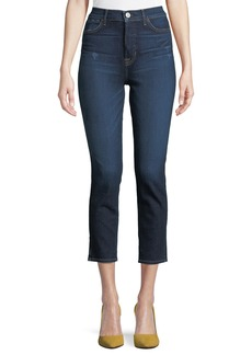 Hudson Holly High-Rise Skinny-Leg Cropped Jeans