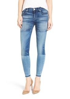 Hudson Isla Patchwork Skinny Jeans (High Marks)