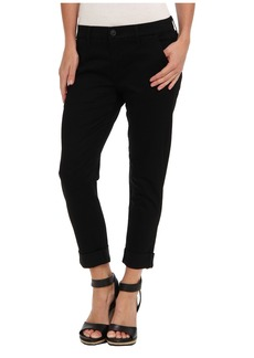 Hudson Jamie Slim Chino Sateen in Black Knight