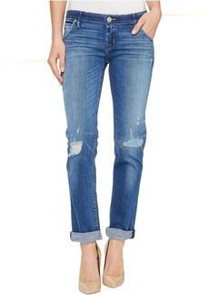 Hudson Jax Boyfriend Skinny Flap Pocket Jeans in Chain Reaction